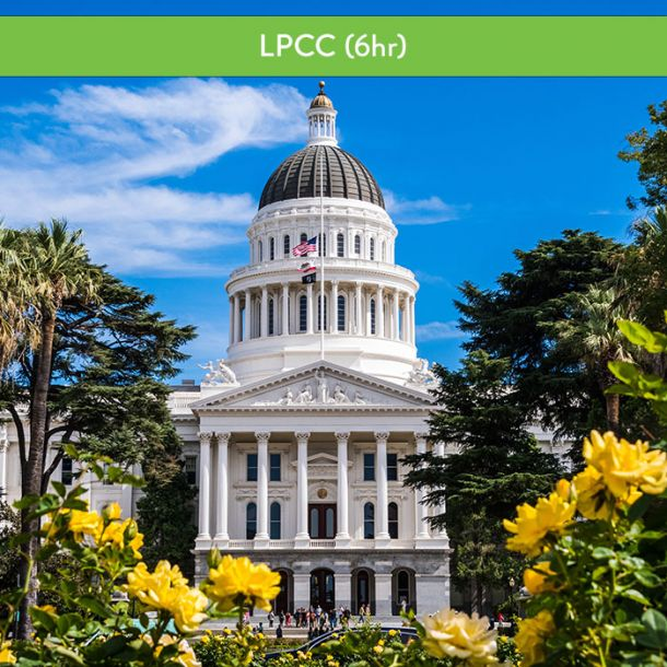 California Laws & Ethics for Licensed Professional Clinical Counselors (6 CE)