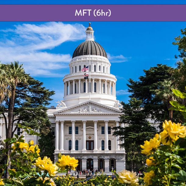 California Laws & Ethics for MFT (6 hr Course)