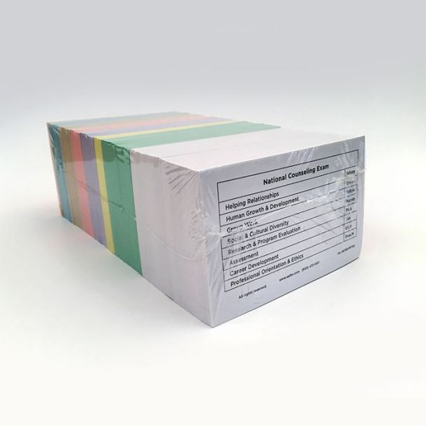 Counseling Color-Coded Flashcards